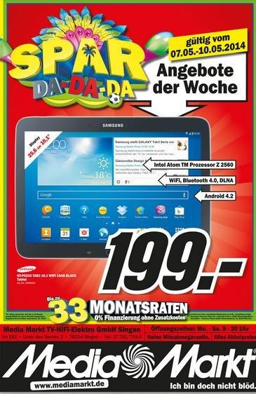 Galaxy Tab 3 199€ -lokal?