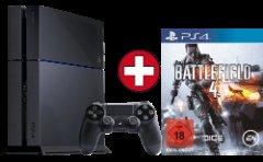 PS4 inkl. COD Ghosts, Battlefield 4 oder 2. Controller bei Media Markt Online