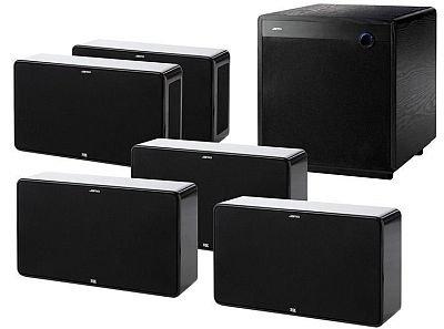 Jamo D500 Schwarz - THX Select2 - 5.1 Heimkino System für 1,599€ @CSM