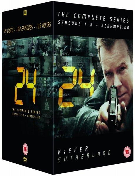 24 - Staffel 1-8 + Redemption [DVD] (O-Ton) für 41€ @Amazon.co.uk