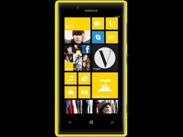Nokia Lumia 720 gelb @ Saturn Latenight Shopping für 159 €