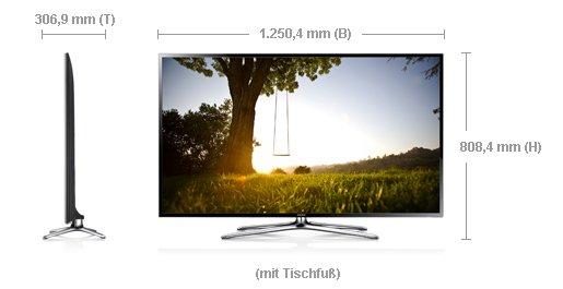 Samsung UE55F6470 für 745 € (idealo 936,36 €) [Mediamarkt]