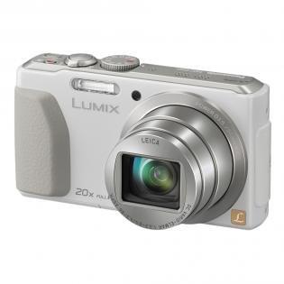 Panasonic DMC-TZ40 Digitalkamera (18 MP, 20x opt. Zoom, Full-HD Filme, GPS, Wi-Fi, NFC) weiß für 197,29€
