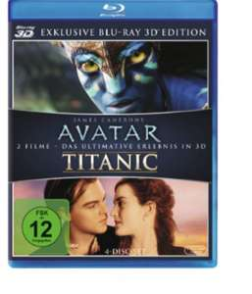 Avatar 3d + Titanic 3d @ MediaMarkt
