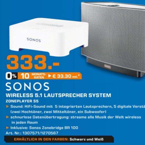 Sonos 5.1 incl. Bridge