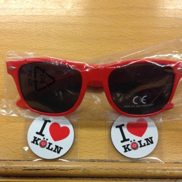 WIEDER DA [FH-Köln] Gratis Sonnenbrille + 2 Magneten