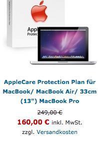 """versch. AppleCare günstig! z.B. für MacBook Pro 13"""""""