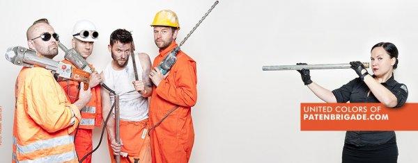 """Kostenloser Download - Album von """"Patenbrigade: Wolff"""", elekt. Musik, EBM"""