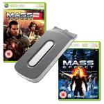 20 GB Festplatte + Mass Effect + Mass Effect 2 (X360, Gebraucht) - ca. 27 Euro