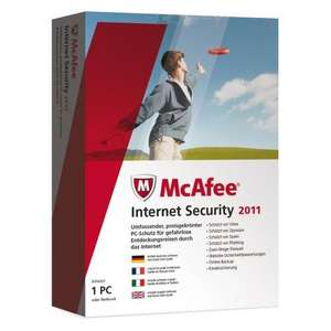 McAfee Internet Security 2011 für 5€