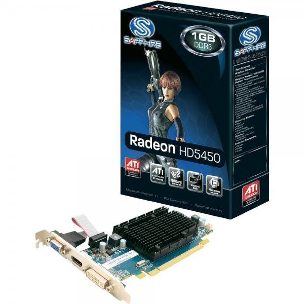Grafikkarte Sapphire ATI™ Radeon™ HD5450 1 GB DDR3-RAM PCIe x16