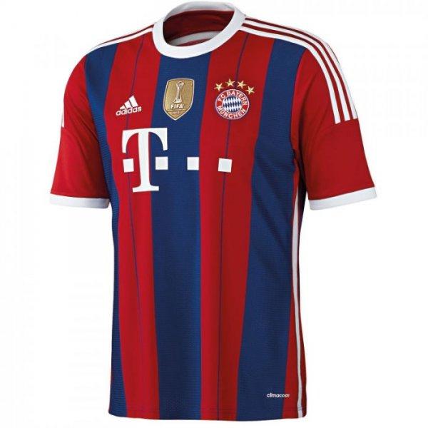 Neues FC Bayern Trikot 2014/2015 mit  20% Rabatt
