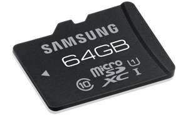 Preisbattle jetzt 33€ Ebay : Samsung microSDXC Pro 64GB Class 10 Speicherkarte 70MB Lesen
