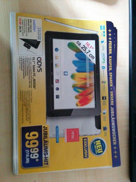 [METRO] 10 Zoll Quadcore Tablet ODYS NERON