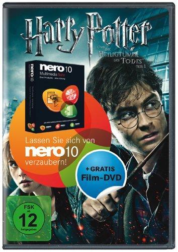 Nero 10 Multimedia Suite + Harry Potter 7.1 DVD für 34,95€ bei buch.de