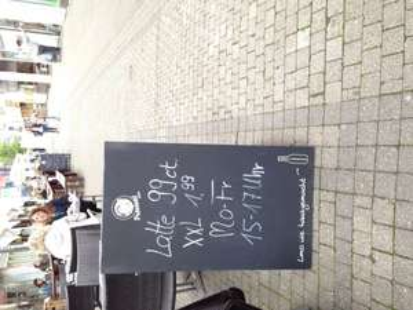 (Lokal) Stuttgart, Latte Macchiato 0,99€ Mo-Fr 15-17h Weber Restaurant Calwer Str.52