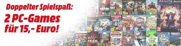 [Österreich]Media Markt Online Shop 2 PC Spiele für 15€ Zb. Saints Row 4 [Comander in Chief Edition] uvm
