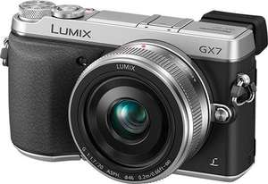 Panasonic Lumix DMC-GX7 Kit 14-42 mm schwarz/silber