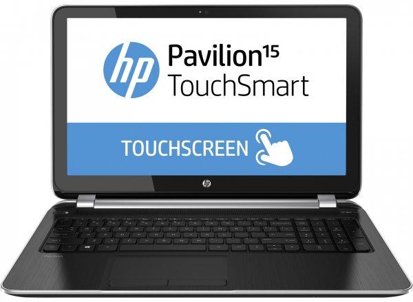 """HP Pavilion TouchSmart 15-n010sg Notebook (15"""" Intel i7 & Touchscreen) statt 799,- für 578,99€"""