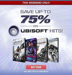 Ubisoft Sale @GameFly: FarCry 1 für 1,71 €, FarCry 2 Fortune´s Edition und Rayman Origins für je 2,44 € u.a.