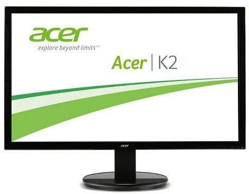 Acer K242HLbd - 24 Zoll Monitor (VGA, DVI, LED, VESA) für 104,94€ @ ZackZack (104,98€ mit USB 3.0-Frontpanel)