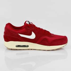 Rote Nike Women - Air Max 1  (GS) gym red/sail-black-black UVP 94,99