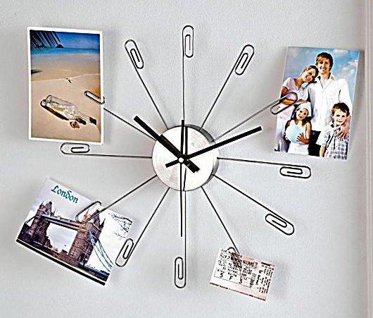 """Weltbild (online):  Wanduhr """"Remember"""" für Fotos, bei Filialabholung statt 12,99 Euro für nur 3,99 Euro"""