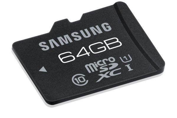 SAMSUNG MB-MGCGB 64GB micro SDXC SPEICHERKARTE 64GB PRO UHS @ ebay 38,95€
