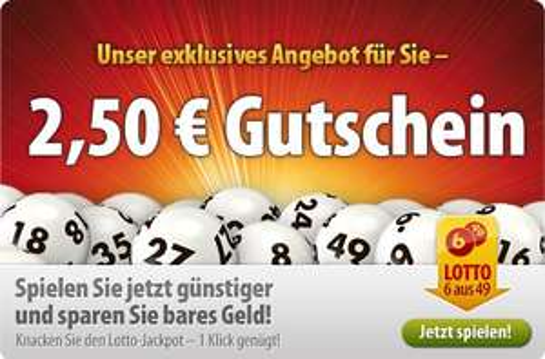 2 Lottoreihen gratis bei Tipp24