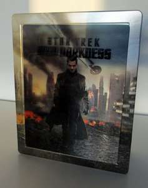 Star Trek Into Darkness 3D Blu Ray Steelbook Lenticular Mediamarkt 15€ wieder da