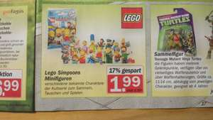 HIT - Bundesweit (?) - LEGO Minifiguren - Simpsons  - 1,99€