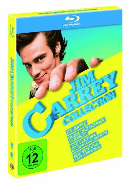Jim Carrey Collection [4 Filme auf Blu-ray]  @ Alphamovies für 20,99€ oder amazon für 19,97€