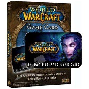 World of Warcraft 60 Tage Gametime-Card für 15€