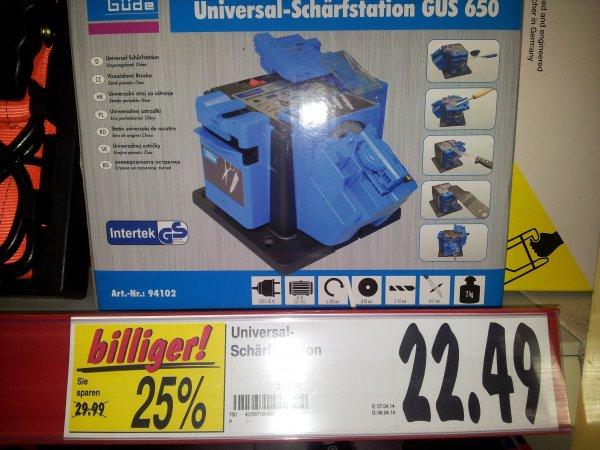 Guede Universal Schärfstation GUS 650 Kaufland (Größpösna bei Leipzig)