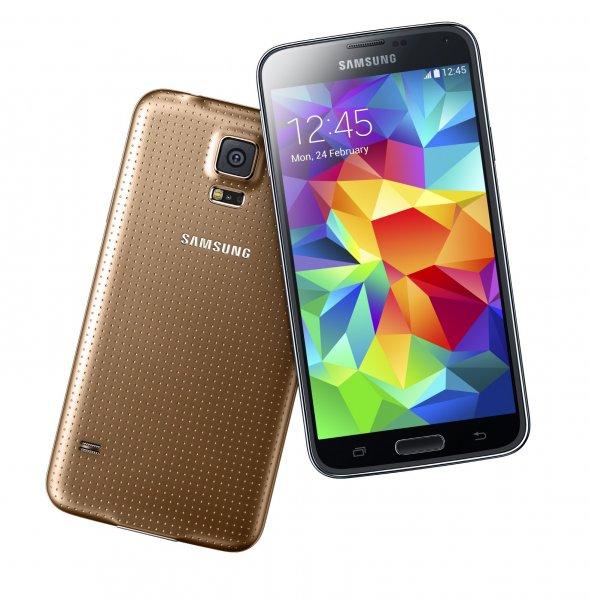 Samsung Galaxy S5 16GB Neu OVP Simlockfrei (copper-gold) für 469€ bei MeinPaket incl.Versand ausverkauft