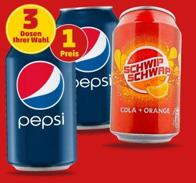 """""""Framstag"""" bei Penny (u.a. 3x0,33 Dose Pepsi für 0,99€)"""