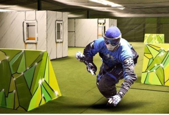 Paintball Halle Monheim 2 Stunden Paintball mit Leihausrüstung und 300 Paints - ab 19 € - QIPU Cashbackmöglichkeit