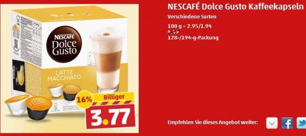 Nescafe Dolce Gusto bei Penny ab 12.05.2014 für 3,77 Euro
