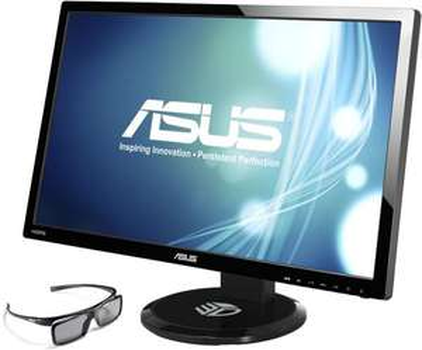 27 Zoll FullHD 3D LED Monitor ASUS VG27AH mit IPS-Panel und 3D-Brille für 244,85€ inkl. VSK@ZackZack