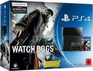 Konsolenkost.de: Playstation 4 Watch Dogs Bundle für 428,98 inkl. Versand (Vorbestellung 27.05.2014) ,Idealo.de ab 491€