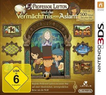 [Zack-Zack.de Flashsale] Professor Layton und das Vermächtnis von Aslant (3DS) inkl. Vsk für 19,99 €