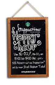 Frappuccino Happy Hour ab 18. Juli - 50% off - Starbucks