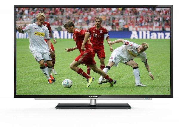 [Blitzangebot] Grundig 50 VLE 921 BL 127 cm (50 Zoll) LED-Backlight-Fernseher, EEK A+ (Full HD, 200 Hz PPR, DVB-C/T/S2, CI+, SmartTV)