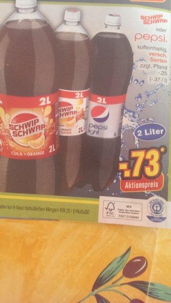 [Offline] SchwipSchwap und Pepsi 0,73 zzgl. 0,25 Pfand