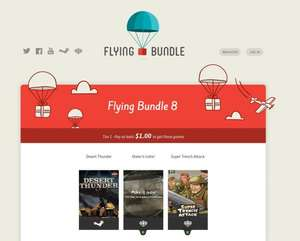 Steam und Desura Keys bei Flying Bundle