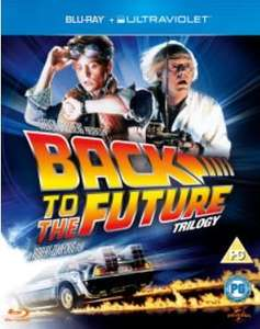 zavvi.com -  BLU-RAY - Back to the Future Trilogy  Kollektion mit Ultravolet COPY - 11,15 €