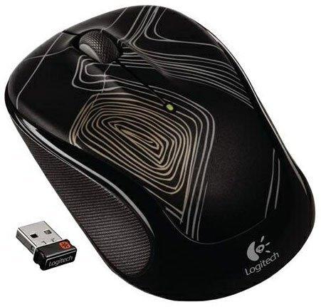 """Logitech™ - Wireless Maus """"M325"""" (Unifying-Nano-Empfänger,1000dpi,5 Tasten,Black/Trace Lines) für €15,73 [@Dell.de]"""