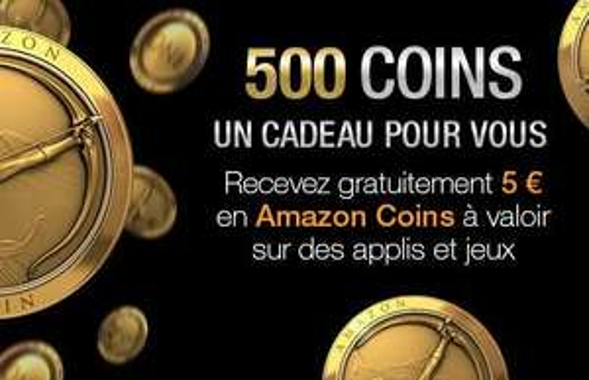 Amazon.fr 5€ App Guthaben & Amazon.es 5€App Guthaben