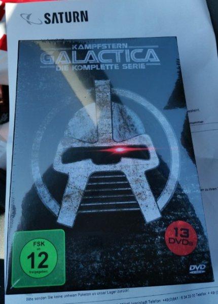 Kampfstern Galactica - Superbox Abenteuer DVD