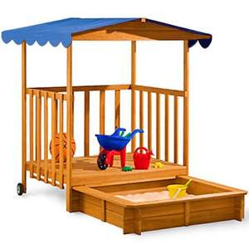 [eBay] Überdachtes Sandkasten Spielhaus VERSANDKOSTENFREI
